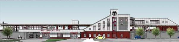 Rendering of what the station will look like