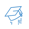Illustration of a graduate's cap