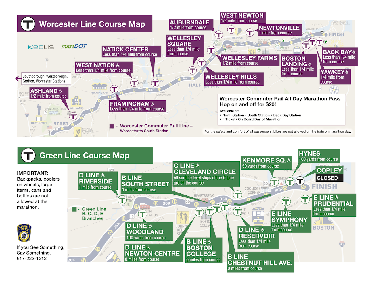 Check out the MBTA/Keolis Marathon viewing map to stake out your stop